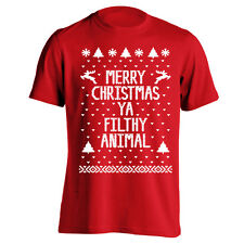 Merry Christmas Ugly Sweater new funny XMAS contest new Red Men's T-Shirt
