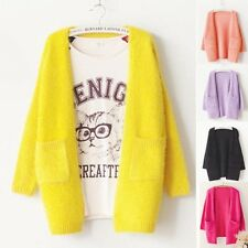Autumn Winter Sweater Cardigan Female Casual Knitted Mohair Women Coat