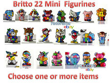 ROMERO BRITTO  22 MINI FIGURINES  ** CHOOSE ONE OR MORE ITEMS ***