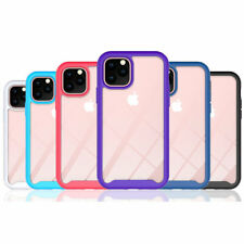 NEW Color Frame Hard Rubber TPU Bumper Case Cover For Apple iPhone 6 6S / Plus