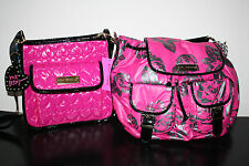 NWT* Betsey Johnson Be Mine Cross Body or Fiesta Rose Back Pack $128
