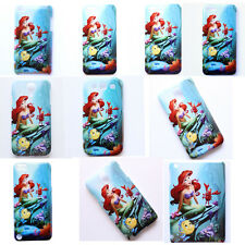 Disney Princess The Little Mermaid Pattern Case Cover For iPhone Samsung Galaxy