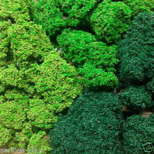 Serious-Play Bush Foliage ~ Clump Hedge Trees Modelling Scenic Warhammer Scenery