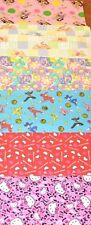 Licensed Childrens Character Print ON Cotton CHOICE BY 1/2 Yard, BTHY Hello Kitt