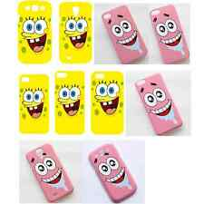 Patrick Star SpongeBob SquarePants Pattern Case Cover For iPhone Samsung Galaxy