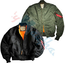 Alpha Industries Ma - 1 Vf 59 Wmn Women's Bomber Jacket in 4 Colours 133009
