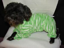 Small Fleece Dog SnowSuit-Pajamas many colors! see more in store