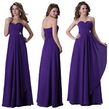 Hot Deal~VTG Chiffon Quinceanera Bridesmaid Evening Party Formal Long Gown Dress