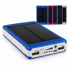 BATERIA CARGADOR SOLAR PORTABLE POWER BANK 30000 mAh XPERIA Z2 L50W iPHONE 5S 6