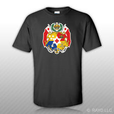 Tongan Coat of Arms T-Shirt Tee Shirt Free Sticker Tonga flag TON TO