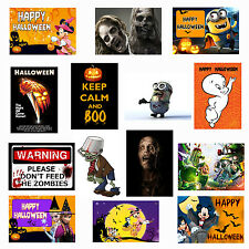 HALLOWEEN PARTY EVENT DECORATION POSTERS Great Display 4 Kids Infants Wall Door
