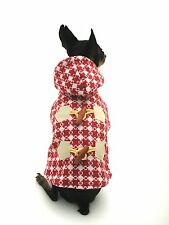 Small Dog Clothes Classic coat outfit Chihuahua Yorkie jacket S, L