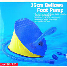 Compact portable foot Pump for Inflatable/Deflatable Air Bed Mattress Boat pool