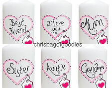 CANDLE Birthday Christmas Gifts Present For MUM MUMMY AUNTIE SISTER BEST FRIEND