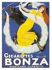 9738.Cigarettes bonze.man and woman smoking.POSTER.decor Home Office art