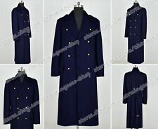 Torchwood Cosplay The Dr Captain Jack Harkness Costume Navy Blue Coat Well Made