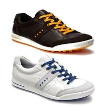 ECCO STREET GOLF SHOES - MENS WATERPROOF PERFORMANCE HYBRID / SPIKELESS SHOE