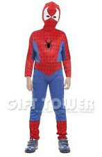 NEW Spiderman Child Kids Halloween Costume Outfit Cosplay Boy Comics Age 4-12
