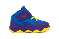 Nike Soldier VIII 653647 400 New Toddler Infant Baby Lebron Blue Yellow Shoes