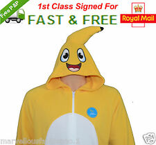 MENS Banana ONESIE SLEEPSUIT PYJAMAS BABYGROW  FANCY DRESS ROMPER ALL IN ONE New