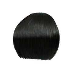 Clip In On Bang Fringe Hair Extension--Straight