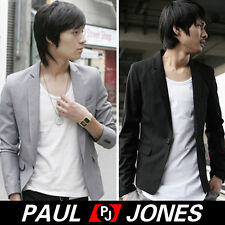 CHEAP NEW Stylish Men One Button Slim Fit Coats Smart Suits Jackets Blazers Tops