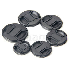 48 58 62 67 72 77mm Front Lens Cap Hood Cover Snap-on Universal Camera MA