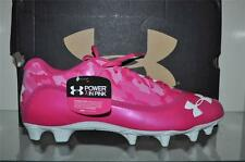 Under Armour Blur Phantom Low MC Football Cleats 1226979 695 Breast Cancer Pink