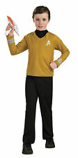 STAR TREK CAPTAIN KIRK GOLD CHILD COSTUME Movie Character Emblem Halloween Party