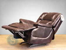 NEW Barcalounger Rambler II Recliner Chair - Florence Mocha Genuine Leather
