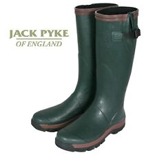 Jack Pyke Shires Wellington Boots Welly Wellie Boot Rubber Green