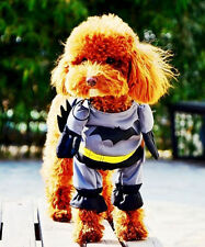 Fancy Pet Cat Dog Puppy Spiderman Batman Party Clothes Funny Cosplay Costume