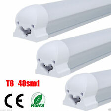 1/10x 9W T8 G13 SMDs LED Tube Light Fluorescent Lamp Office Lighting 60cm 2ft