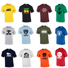 WHOLESALE T SHIRT TEE RE-SELL CAR BOOT SWAG VARIOUS DESIGNS AVAILABLE CHARITY