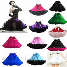 "Maggie Tang Womens Dancing dress Tutu Petticoat Mini Skirt Rockabilly 14.2""long"