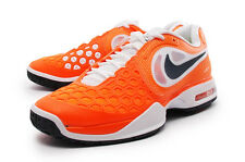 Nike Men Rafa Air Max Courtballistec 4.3 Men Tennis Shoe Orange/White 487986-841