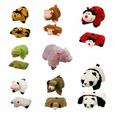 Kids Official 2 in 1 Animal Shaped Cushion Pillow Soft Toy Brand New Gift