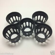 "HYDROPONIC AQUARIUM AEROPONIC GROWING KIT MESH NET POT BASKET 1.75"" CUP 200pcs"