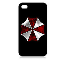 Resident Evil Umbrella Corporation iPhone 4 4s OR 5 Cover Case