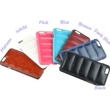 """Bullet-proof Vest Design PU+PC Material Rubber Back Cover Case for iPhone 6 4.7"""""""
