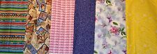 Cute Cotton Prints Breast Cancer Pink Ribbons Floral More 1 Yard Choice Of Print