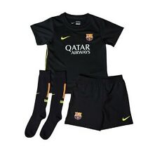 Barcelona FC Away FCB NIKE Junior Trikot+Hose/Shorts+Socken/Stutzen 2014 NEU