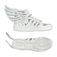 ADIDAS OBYO JEREMY SCOTT 7 JS WINGS 2 WHITE CUT OUT CLEAR SHOES ORIGINALS M29012