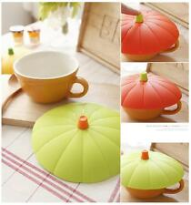 Pumpkin Silicone Bowl, Dish, Cup Cover/ Lid/ colorful/ Multipurpose/ small size