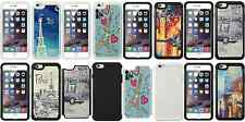 iPhone 6 Plus City Art VIew Hard Soft Rubber Defender Armor Hybrid Case Cover