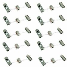 LOT Lock Key Side Volume Mute Switch Power Button Set  iPhone 4 4G silver b155