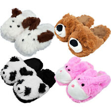 Kids Cuddlee Slippers Fits Most Ages 6-12 DIFFERENT PET ANIMAL VARIATIONS