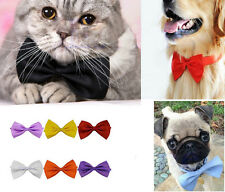 Dog Cat Pet Puppy Toy Kid Cute Bow Tie Necktie Clothes 10 Colors  Xmas Gift