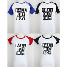 Fall Out Boy Patrick Stump FOB Pattern Couple T-Shirt Boy's Girl's Graphic Tee