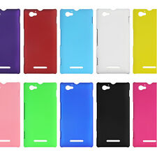 1pc New Fashion Hard PC Back Cover Case Skin Protector for Sony Xperia M C1905